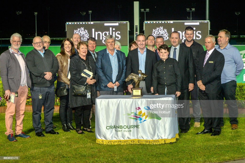 Presentation of the Inglis Pinker Pinker Plate at Cranbourne Racecourse on October 13, 2017 in Cranbourne, Australia.