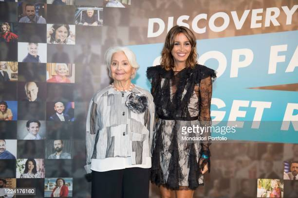 presentation of the new Discovery Italia listings In the picture Clelia Onofrio Benedetta Parodi Press conference to present the new Discovery...