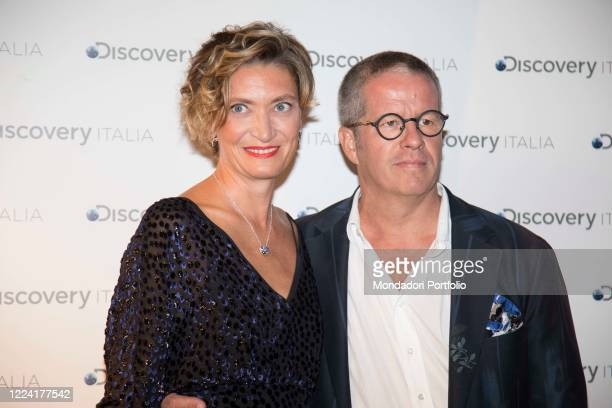 presentation of the new Discovery Italia listings In the picture Ernst Knam Alessandra Mion Press conference to present the new Discovery program at...