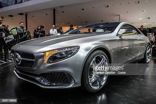 Presentation of the new MercedesBenz Sclass Coup�� as shown at the 65th IAA Frankfurt International Motor Show September 11 2013