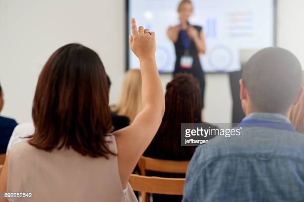 presentations that stimulate discussion - attending stock pictures, royalty-free photos & images