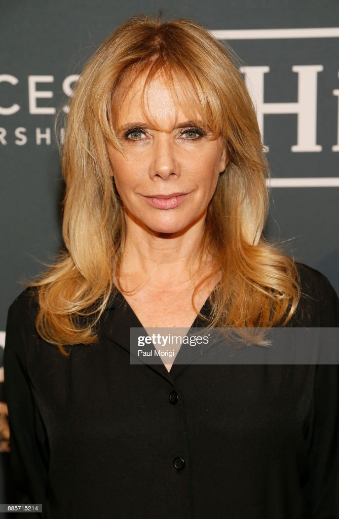 Presenter Actor, Activist Rosanna Arquette attends Vital Voices Global Partnership: 2017 Voices Against Solidarity Awards at IAC HQ on December 4, 2017 in New York City.