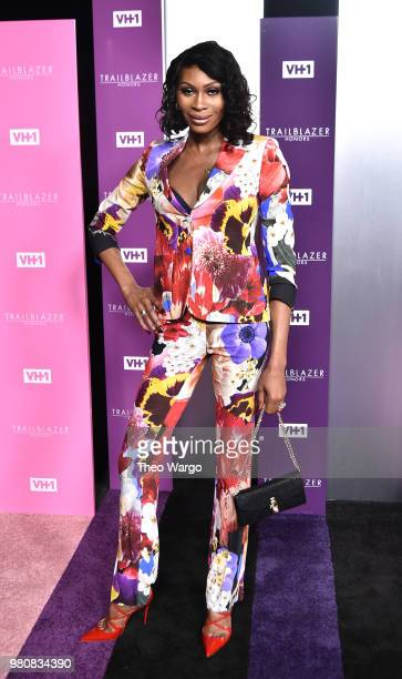 Presenter Actor Dominique Jackson attends VH1 Trailblazer Honors 2018 at The Cathedral of St John the Divine on June 21 2018 in New York City
