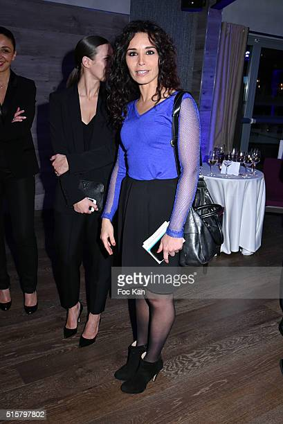 TV presenter Aida Touihri attends 'Sechez Les Petites Larmes' Auction Gala to Benefit Immunohematology Service of Andre Barruchel From Robert Debre...