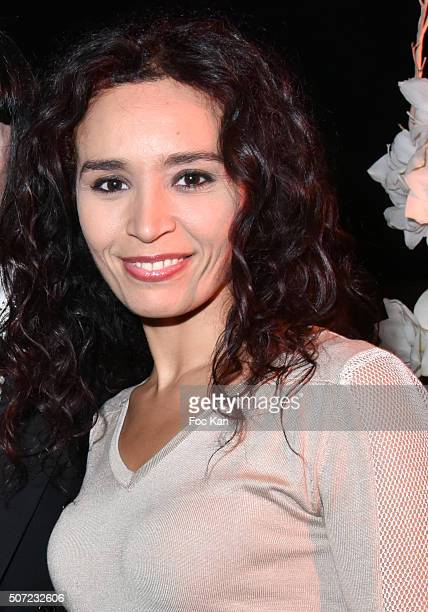 TV presenter Aida Touihri attends the 'Pirelli Calendar by Annie Leibovitz' Launch Party At Hotel National Des Invalides on January 27 2016 in Paris...