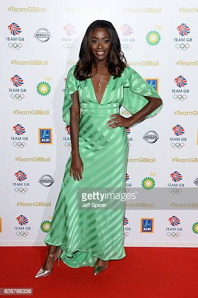 Presenter AJ Odudu attends the Team GB Ball at Battersea Evolution on November 30 2016 in London England