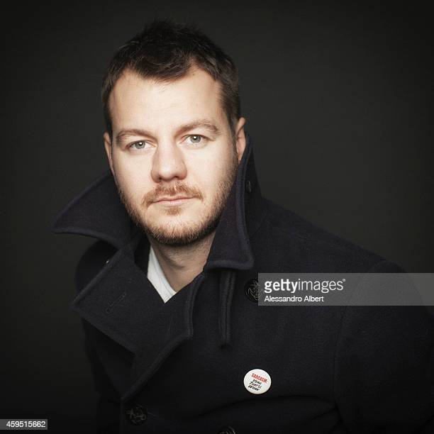 TV presenter Alessandro Cattelan poses during 32th Turin Film Festival for Self Assignment on November 22 2014 in Turin Italy