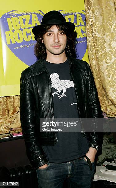 TV presenter Alex Zane arrives at the Ibiza Rocks with Sony Ericsson launch party at The Lock Tavern Camden on May 14 2007 in London England The...