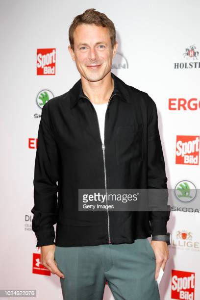 Presenter Alexander Bommes attends the Sport Bild Award on August 27 2018 in Hamburg Germany