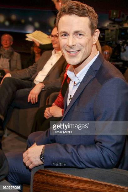Presenter Alexander Bommes during the photo call to the 'Tietjen und Bommes' TV show on March 16 2018 in Hanover Germany