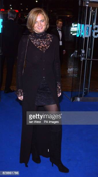 Presenter Alice Beer arrives for the Royal Film Performance 2003 - a charity screening of new film Master & Commander : Far Side Of The World at...