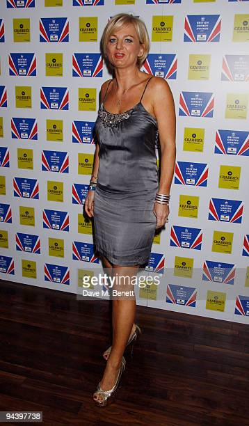 TV Presenter Alice Beer attends the British Comedy Awards on December 12 2009 in London England