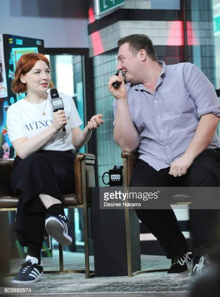 TV presenter Alice Levine and Jamie Morton visit Build Series to discuss 'My Dad Wrote a Porno' at Build Studio on March 1 2018 in New York City