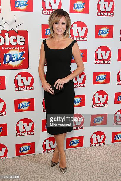 Presenter Amanda Holden attends the TV Choice Awards 2013 at The Dorchester on September 9 2013 in London England