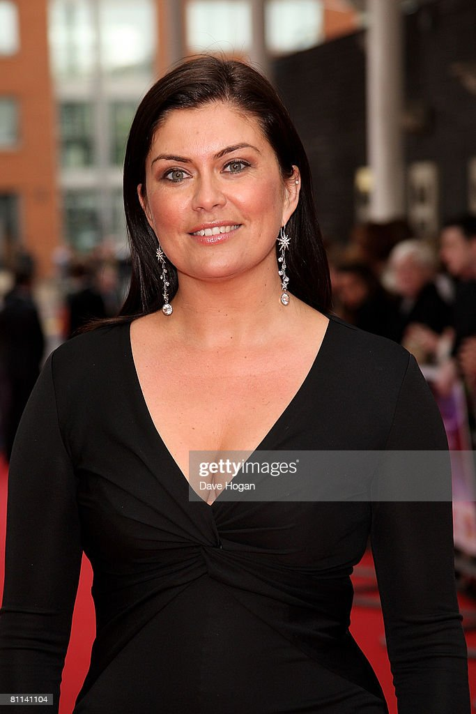 TV presenter Amanda Lamb arrives at the Britain's Best 2008 awards at London Television Studios on May 18, 2008 in London, England. The award ceremony honours outstanding Britons in categories including business, art, television, music, film, sport and fashion.