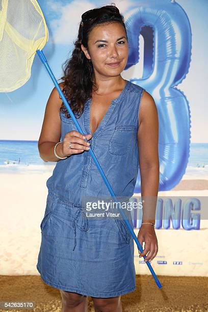 Presenter Anais Baydemir attends the 'Camping 3' Paris Premiere at Gaumont Champs Elysees on June 23 2016 in Paris France