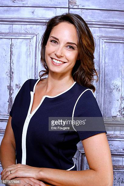 TV Presenter and Actress Julia Vignali Photographed in PARIS
