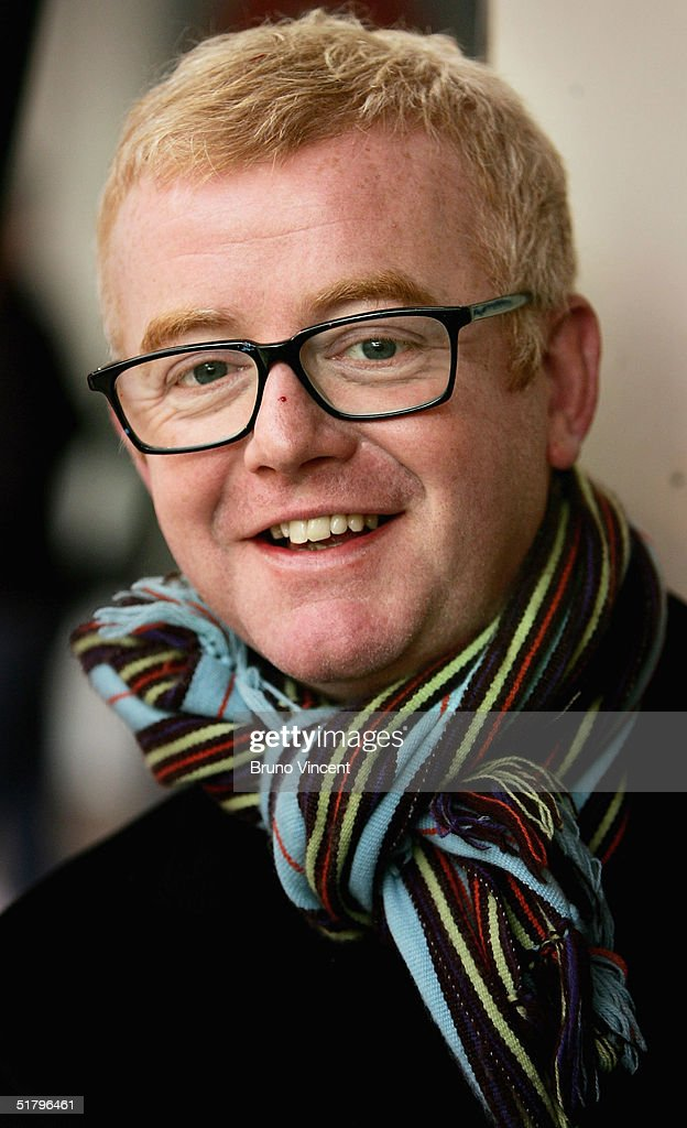 TV presenter and business entrepreneur Chris Evans sells his wares at Camden Stables Market on November 27, 2004 in London. He is to sell off furniture, and a Jaguar car, which have been in storage following the sales of several of his properties at the popular London market.
