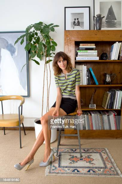 TV presenter and model Alexa Chung is photographed for Vogue UK on January 18 2012 in New York City PUBLISHED IMAGE