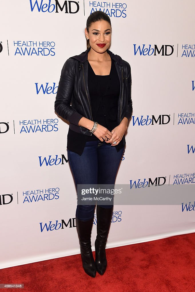 Presenter and musician Jordin Sparks arrives at the 2014 Health Hero Awards hosted by WebMD at Times Center on November 6, 2014 in New York City.