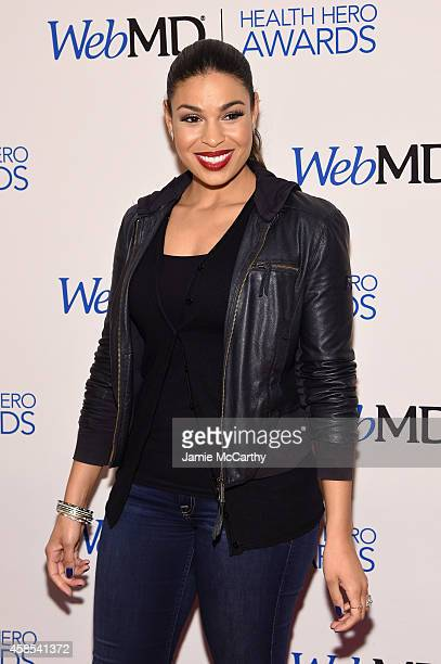 Presenter and musician Jordin Sparks arrives at the 2014 Health Hero Awards hosted by WebMD at Times Center on November 6 2014 in New York City