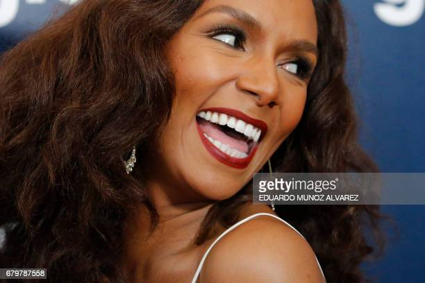 Presenter and nominee Janet Mock attends the 28th Annual GLAAD Media Awards on May 6 2017 in New York / AFP PHOTO / EDUARDO MUNOZ ALVAREZ