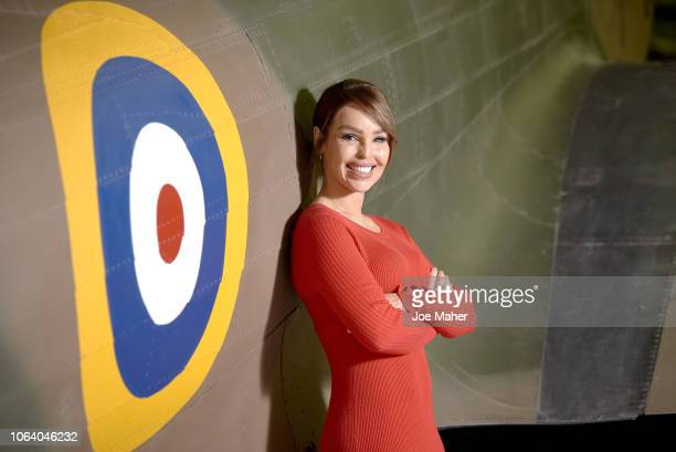 Presenter and Strictly Come Dancing star Katie Piper launches The National Lottery's Thanks to You Campaign at the RAF Museum on November 21 2018 in...