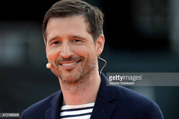 Presenter Andreas Tuerck attends the taping of the tv show 'Abenteuer Grillen Der kabel eins BBQKing 2015' on May 9 2015 in Bottrop Germany The show...