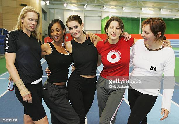 TV presenter Anna Walker pop star Lisa Maffia TV presenter Kirsty Gallacher cousin of the King of Spain Princess Tamara CzartoryskiBorbon and TV...