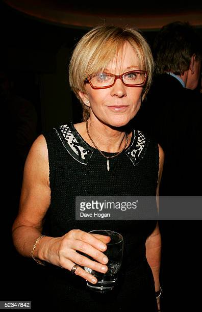 Presenter Anne Robinson attends the Book Launch Party for Piers Morgan's memoirs entitled 'The Insider' at Axis Restaurant on March 9 2005 in London...