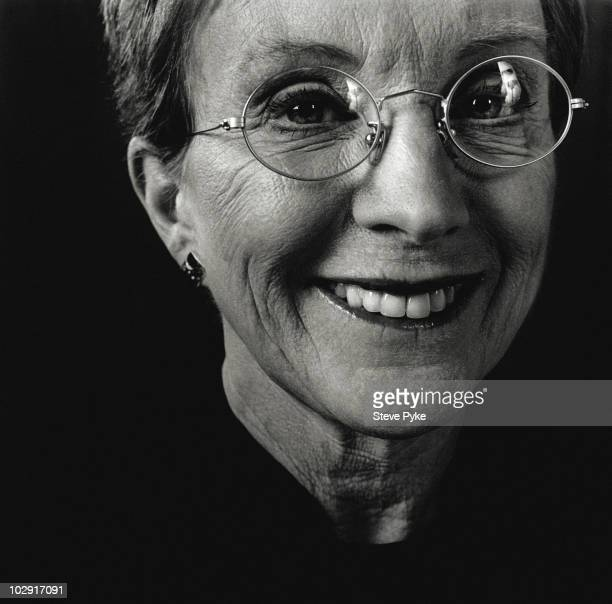 Presenter Anne Robinson poses for a portrait shoot in London UK