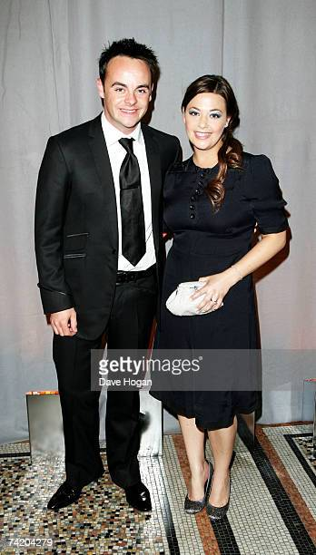 TV presenter Ant McPartlin and his wife Lisa Armstrong attend the British Academy Television Awards afterparty at the Natural History Museum on May...