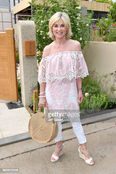 Presenter Anthea Turner attends the Chelsea Flower Show 2018 on May 21 2018 in London England
