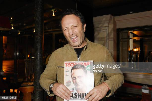 TV presenter Arthur aka Jacques Essebag attends the Technikart Magazine Cocktail for Technikart May Issue at Maison Albar s on May 11 2017 in Paris...