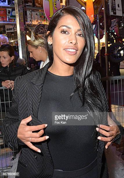 TV presenter Ayem Nour attends 'La Foire du Trone 2015' Launch Party At Pelouse De Reuilly in Benefit of Le Secours Populaire Association on March 27...