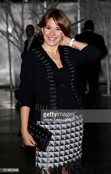Presenter Barbara D'Urso attends the 2010 Convivio held at Fiera Milano City on June 10 2010 in Milan Italy