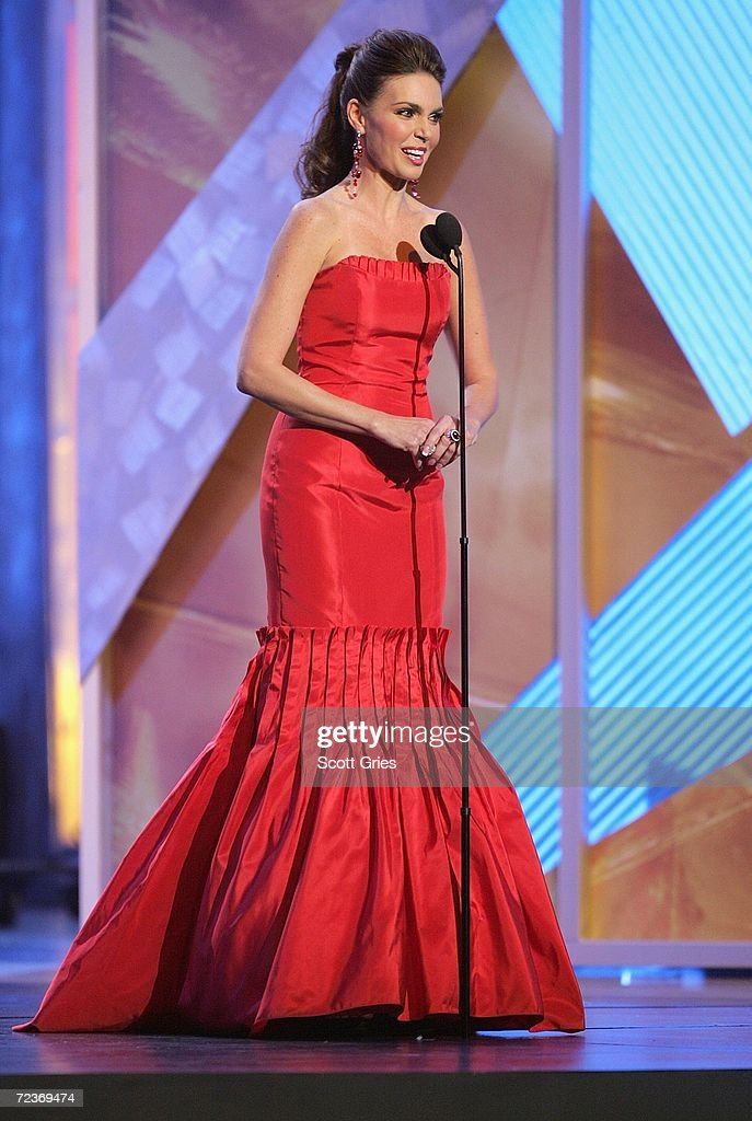 Presenter Barbara Palacios speaks onstage at the 7th Annual Latin Grammy Awards at Madison Square Garden November 2, 2006 in New York City.