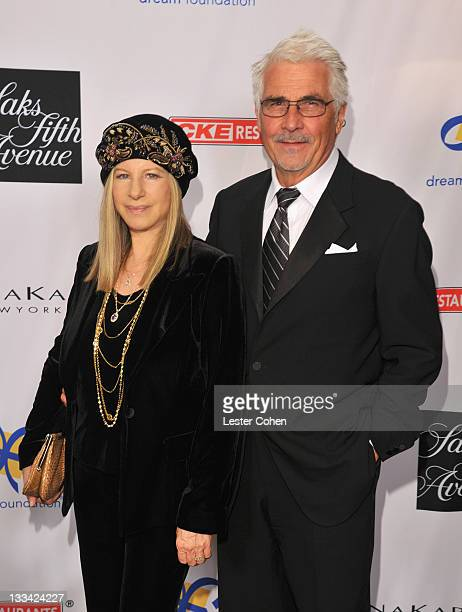 Presenter Barbra Streisand and actor James Brolin attend The Dream Foundation's 10th Annual Celebration of Dreams, honoring fashion icon Donna Karan...