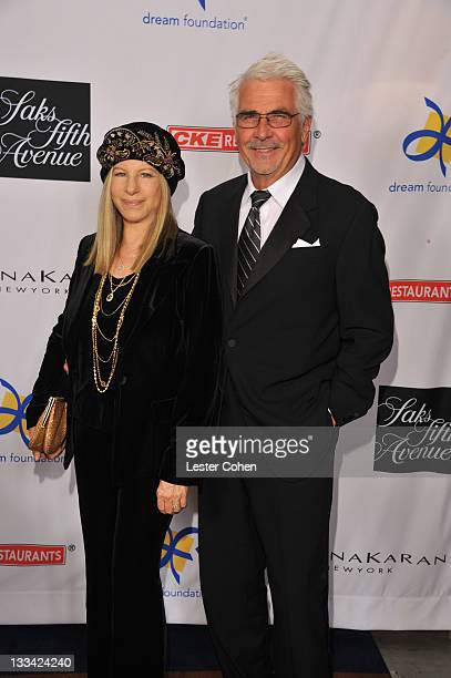 Presenter Barbra Streisand and actor James Brolin attend The Dream Foundation's 10th Annual Celebration of Dreams honoring fashion icon Donna Karan...