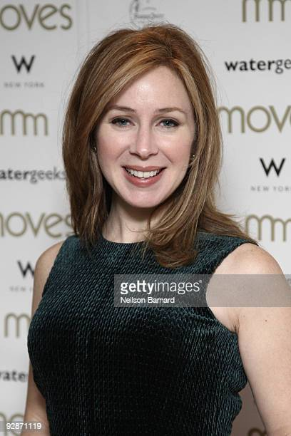 TV presenter Becky Quick attends the 6th annual Moves Power Women awards at the W New York on November 6 2009 in New York City