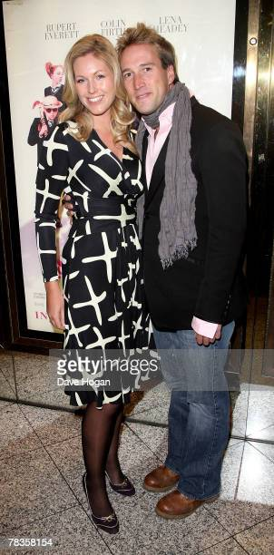 TV presenter Ben Fogle and his wife Marina arrive at the world premiere of St Trinian's at Empire Leicester Square on December 10 2007 in London...