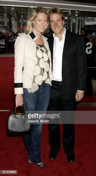 TV presenter Ben Fogle and Marina Hunt arrive at the UK Premiere of 'Mission Impossible 3' the third film in the action movie series at the Odeon...