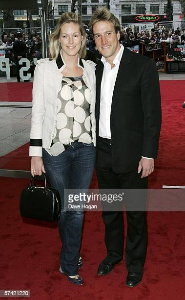 TV presenter Ben Fogle and Marina Hunt arrive at the UK Premiere of 'Mission Impossible III' the third film in the action movie series at the Odeon...