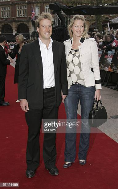 Presenter Ben Fogle and Marina Hunt arrive at the UK Premiere of 'Mission Impossible III' the third film in the action movie series at the Odeon...