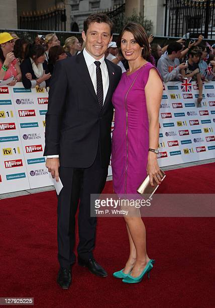 TV presenter Ben Shephard with his wife Annie Perks attends the Pride of Britain Awards at the Grosvenor House Hotel on October 3 2011 in London...