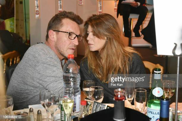 TV presenter Benjamin Castaldi ad his wife Aurore Aleman Castaldi attend 'Miss Beaute Nationale 2019' Election Ceremony and Citestars 20th...