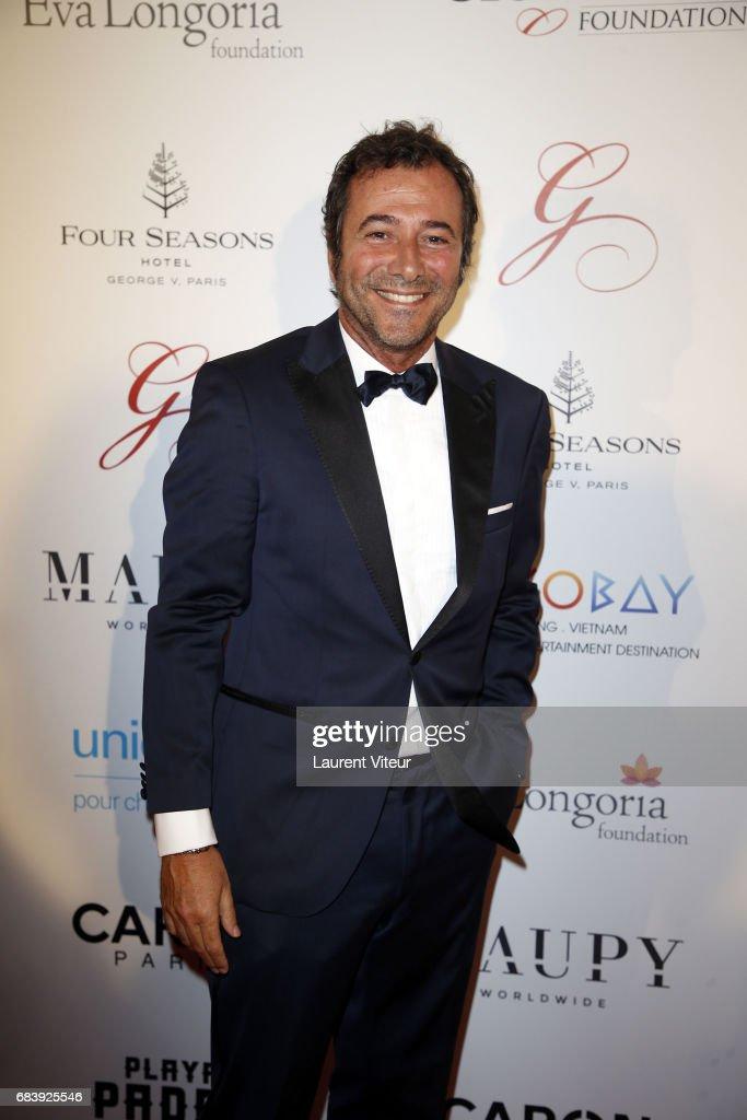 TV Presenter Bernard Montiel attends Global Gift Gala 2017 at Hotel George V on May 16, 2017 in Paris, France.