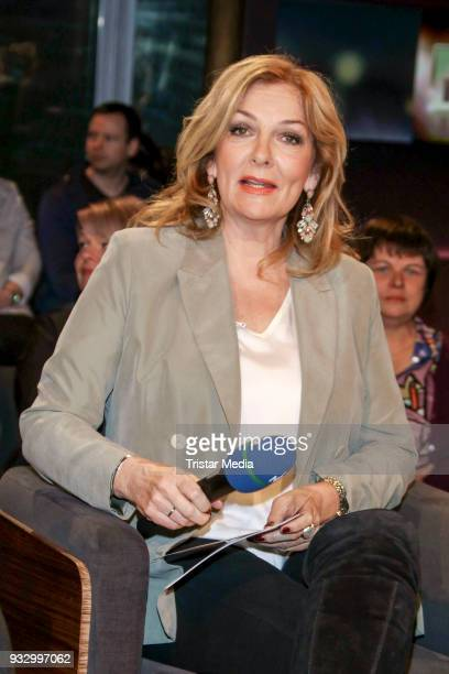 Presenter Bettina Tietjen during the photo call to the 'Tietjen und Bommes' TV show on March 16 2018 in Hanover Germany