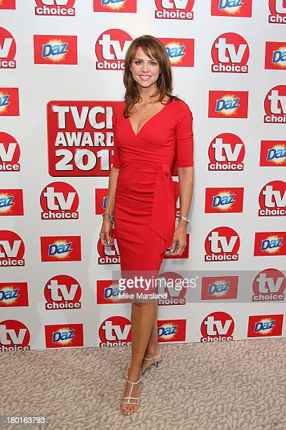 Presenter Beverley Turner attends the TV Choice Awards 2013 at The Dorchester on September 9, 2013 in London, England.