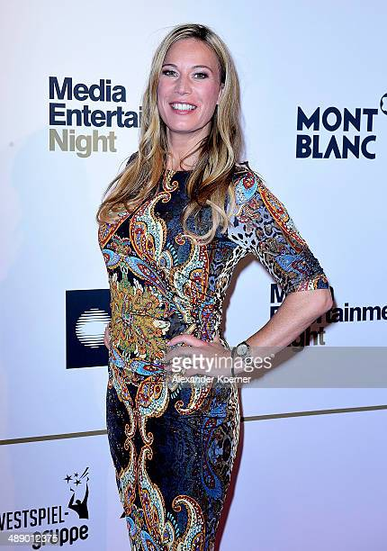 TV presenter Birgit von Bentzel attends the Media Entertainment Night at Hotel im Wasserturm on May 9 2014 in Cologne Germany